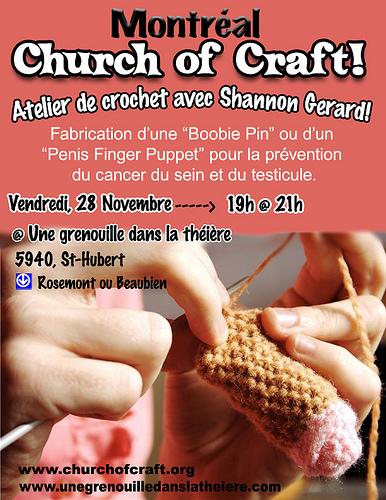 November Montreal Church of Craft