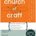 church of craft NOV